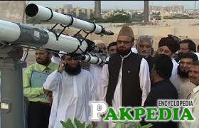 Mufti Muneeb-ur-Rehman is member of Roet-e-Hilal Committee