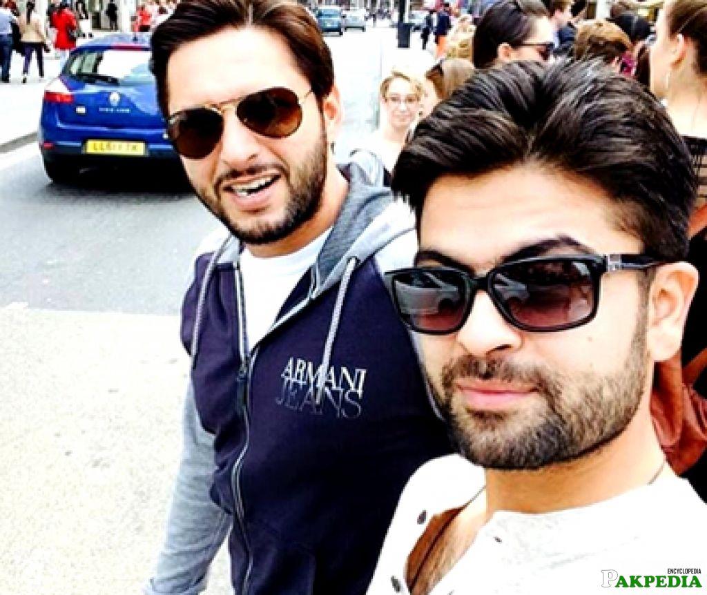 Shehzad and afridi