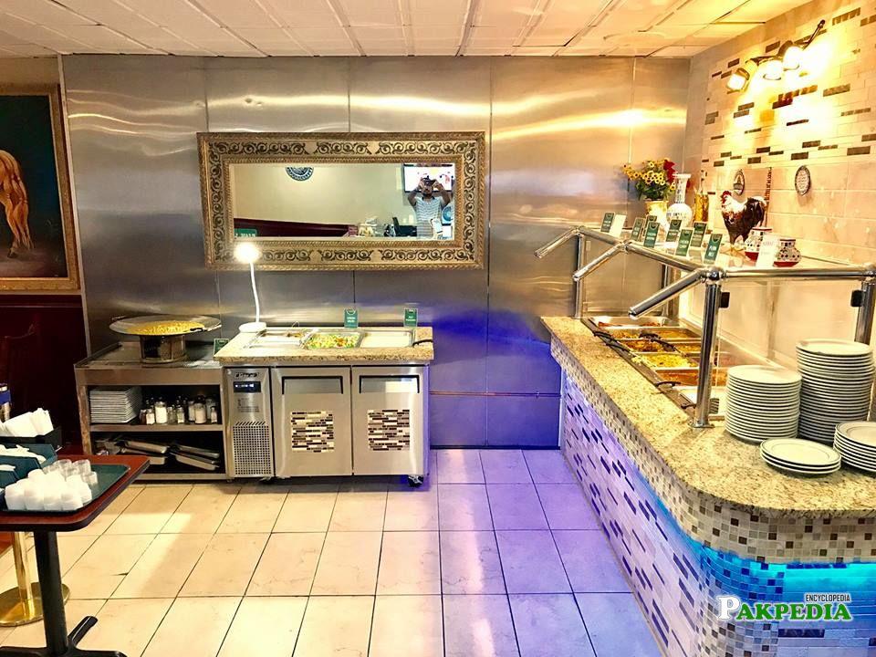 New buffet look of Restaurant