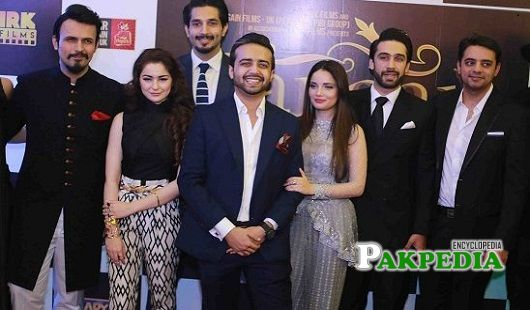 Usman Mukhtar during the premium of Janaan