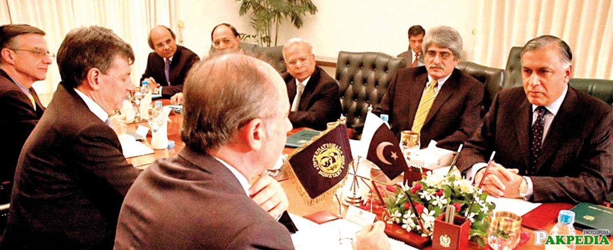 Finance Minister of pakistan 1999 - 2007