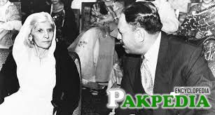 Ayub Khan with Fatima Ali Jinnah