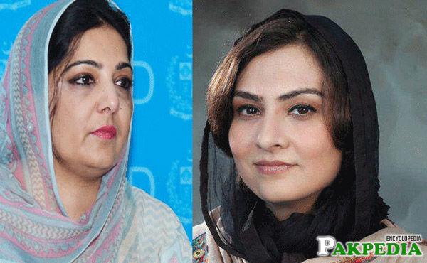 Anusha Rehman and Marvi Memon