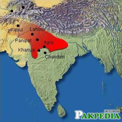 Babur's empire