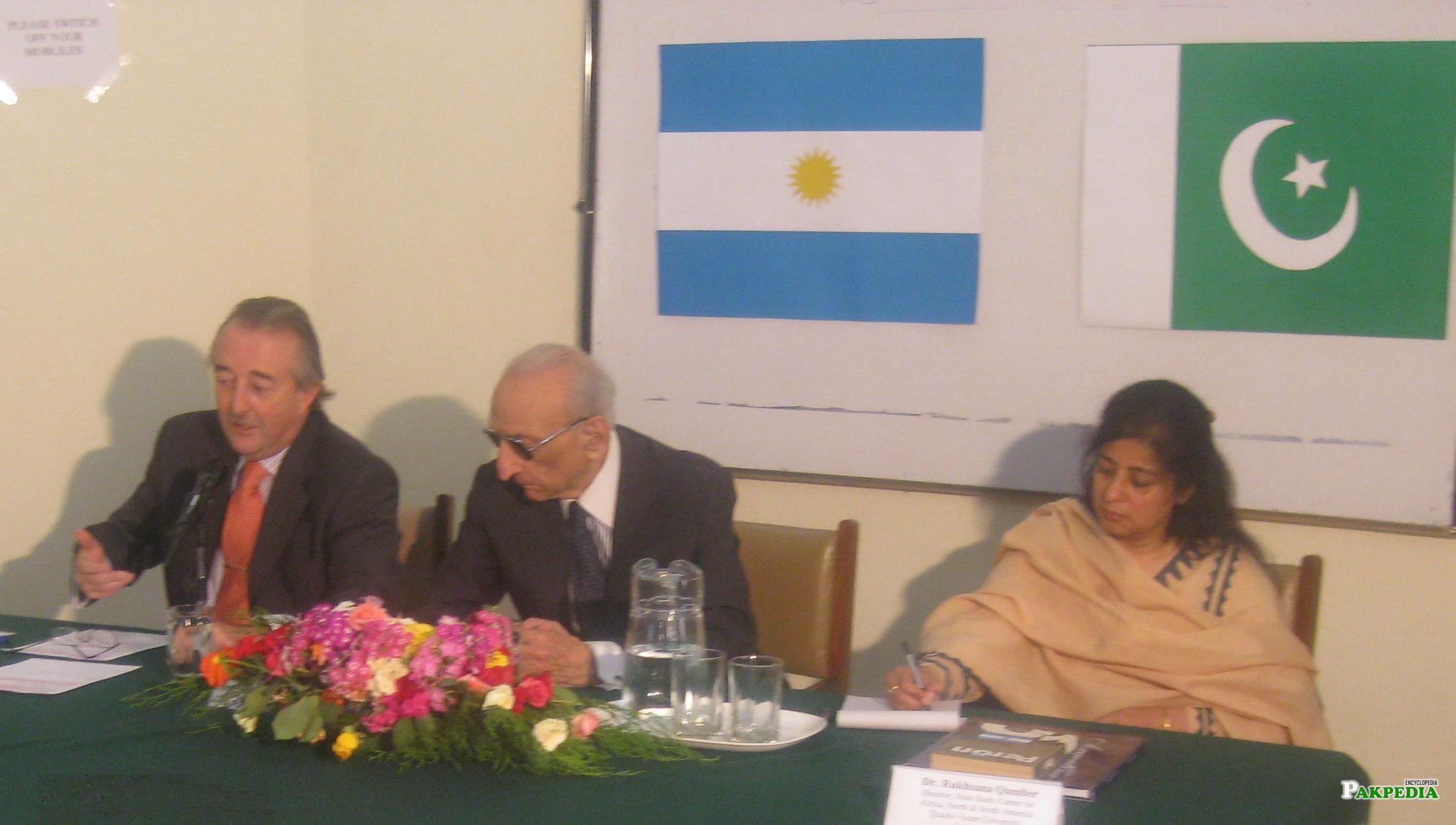 Dr.Rukhsana and Sahabzada Yaqub Khan