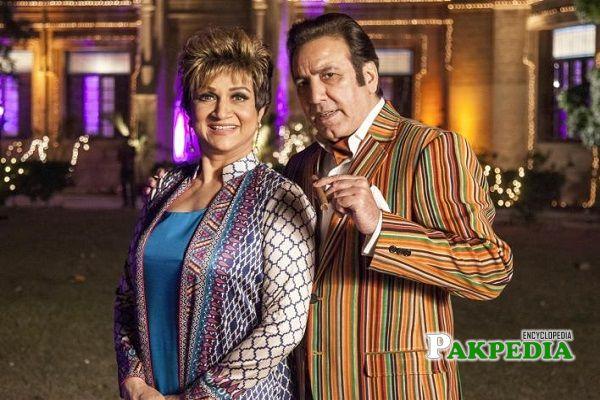 Bushra Ansari and Javed Sheikh