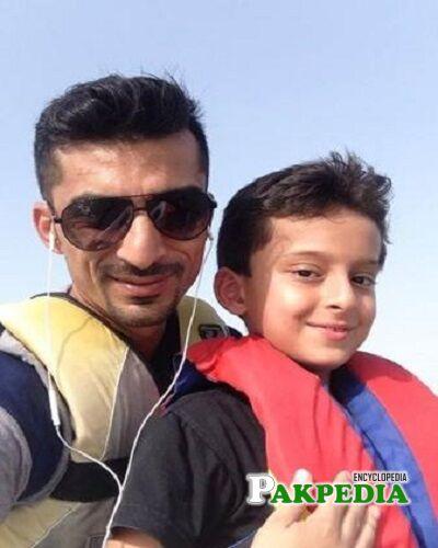 Yasir Hameed son