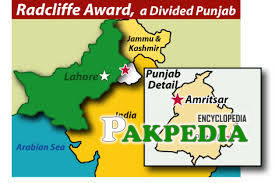 Distribution of Punjab