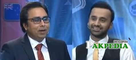 Shahbaz Gill in Waseem Badami show