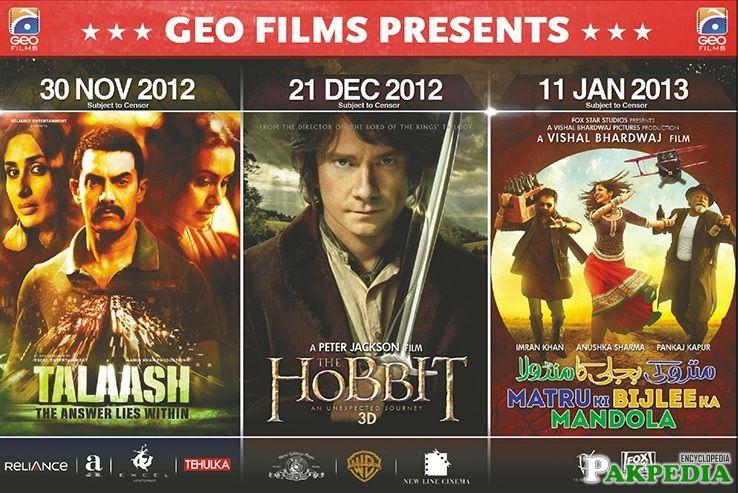 GEO Films Distribute the Films