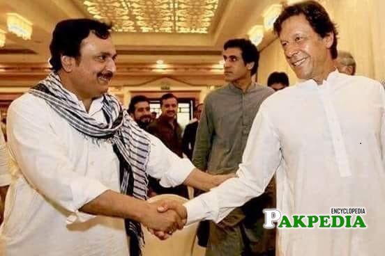 Ejaz Khan with PM Imran khan