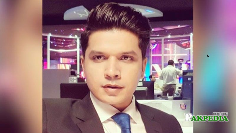 Bold Anchorperson Mureed Abbas