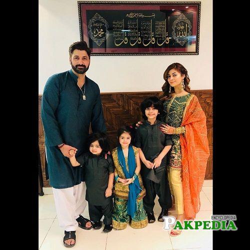 Syed Jibran Family