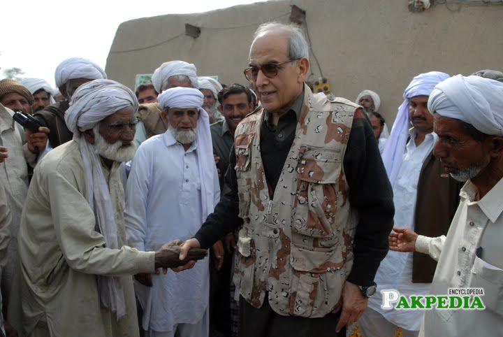 Farooq Leghari in FATA