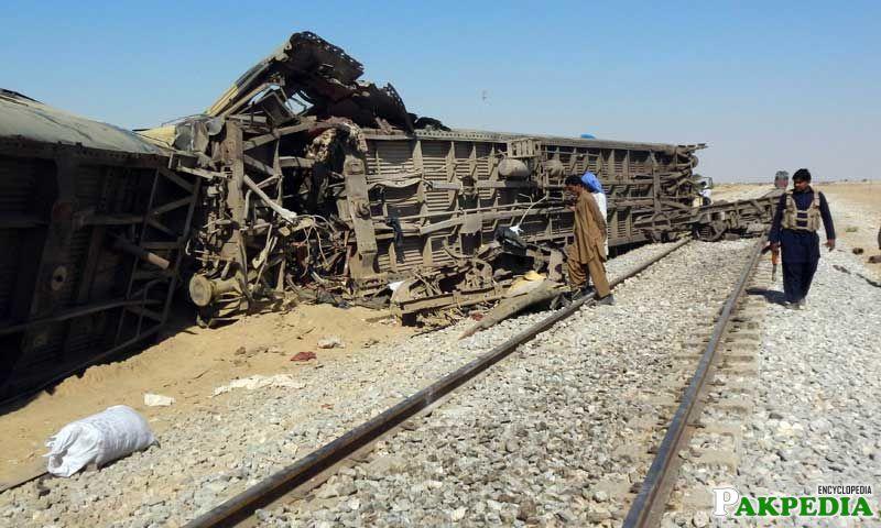 Dera Murad Jamali Train Accident