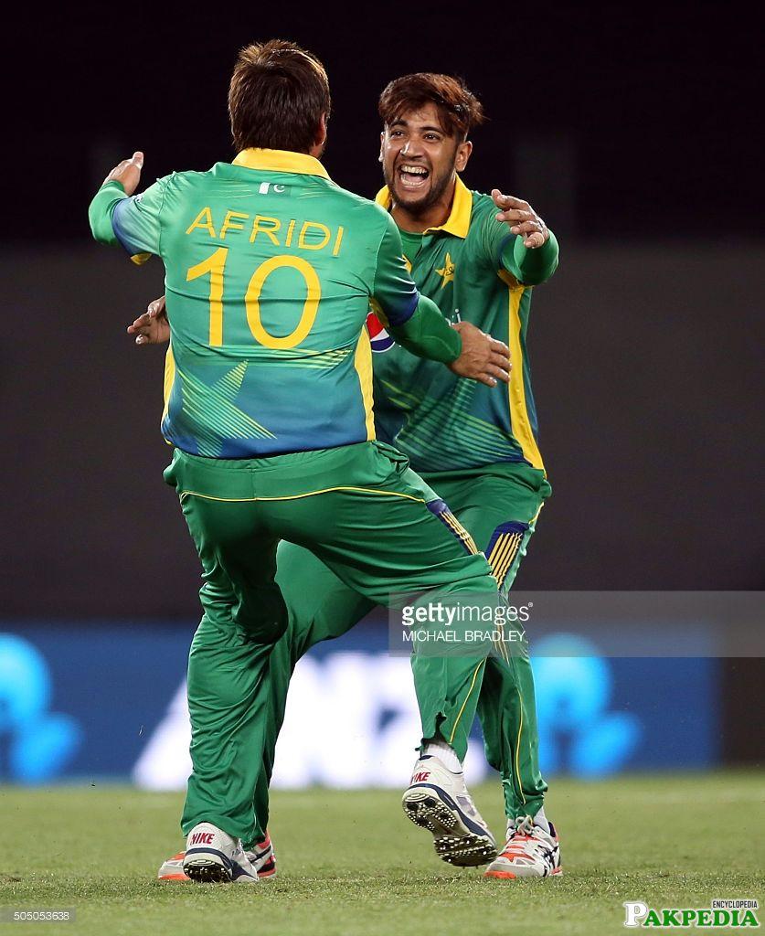 Imad Wasim and Afridi