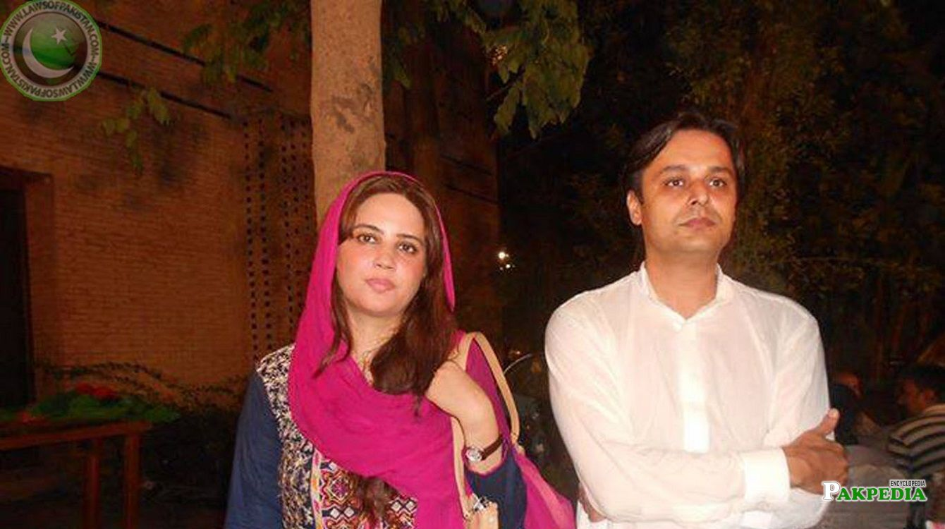 Zartaj Gul family - husband