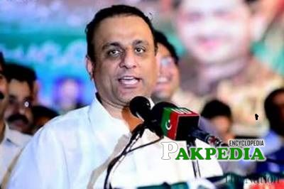 Aleem khan resigned from his post of Minister of Punjab for Local Government and Community Development