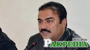 Rehmat Saleh Baloch in Black Jackit