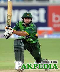 Nasir Jamshed On Pitch