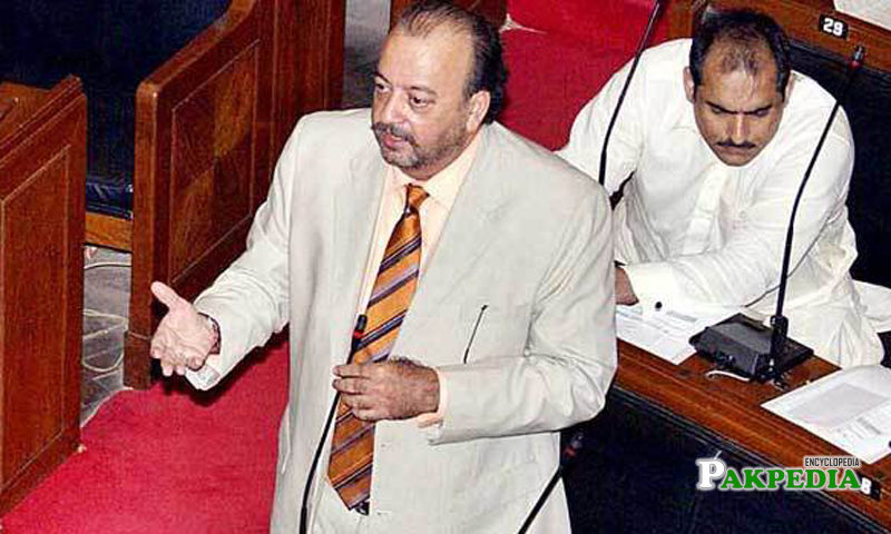 Agha Siraj appointed as a speaker of Sindh Assembly
