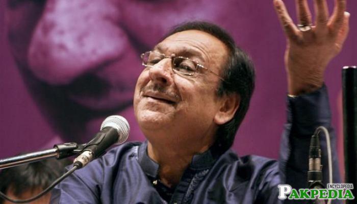 Ghulam Ali Great Singer