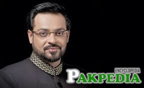 Aamir Liaquat is TV Anchor