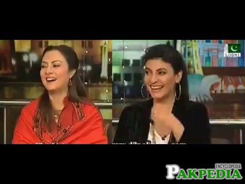Fariha pervaiz and Marvi Memon
