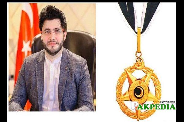 Javed Afridi awarded with Sitar e Imtiaz