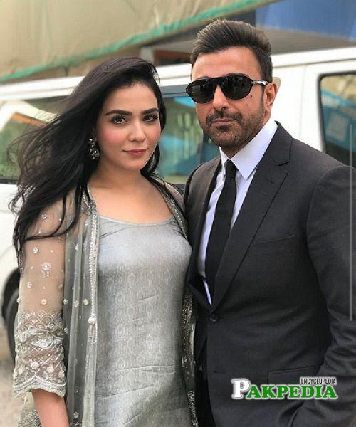 Humaima with Shamoon Abbasi