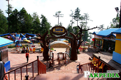enterence of adventure park murree