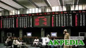 Pakistan Stock Exchange Index Screen