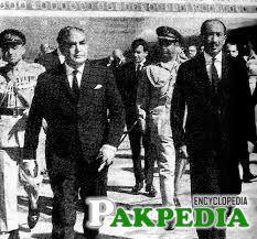 Yahya Khan on Visit