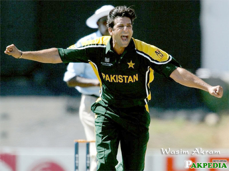 Wasim Akram is a Great Bowler