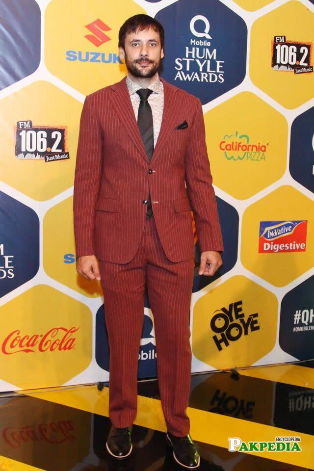 Tipu sharif at Hum Style Awards