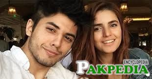 With Momina Mustehsan