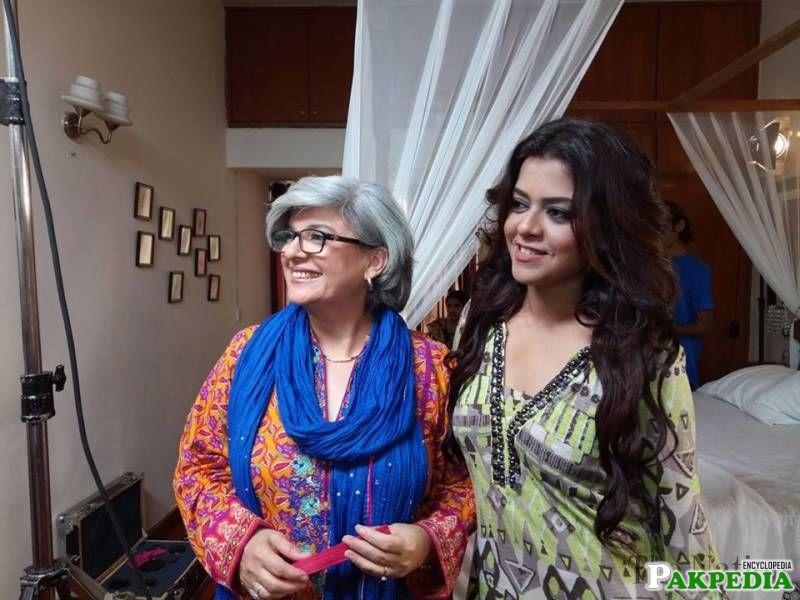 with Maria Wasti