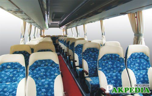 Daewoo Express Bus Service Seats
