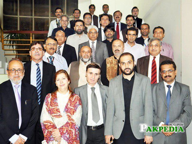 While attending seminar