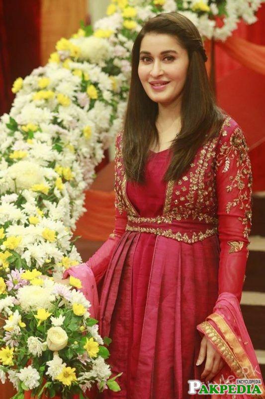 Shaista in Geo morning show