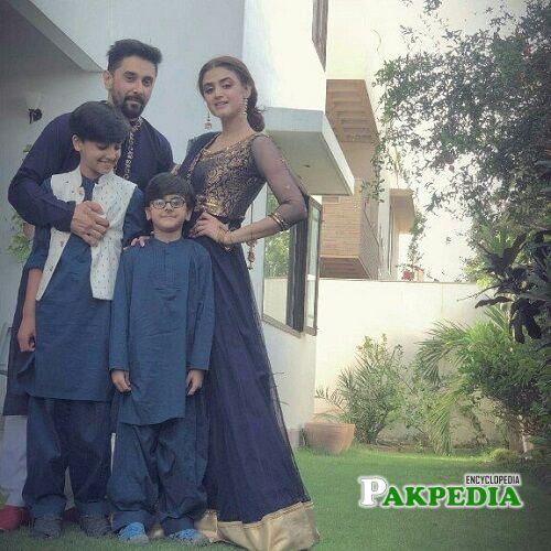 Salman Saqib Mani Family