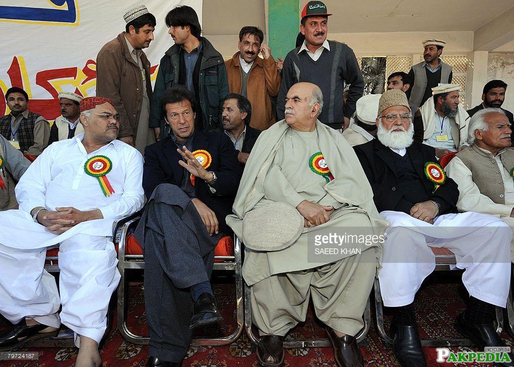 Imran Khan in Khushab
