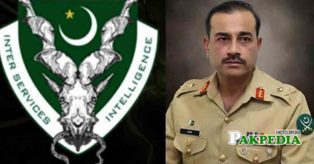 Appointed head of ISI