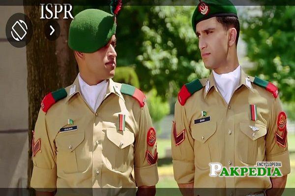 Adnan Samad with Ahad Raza Mir