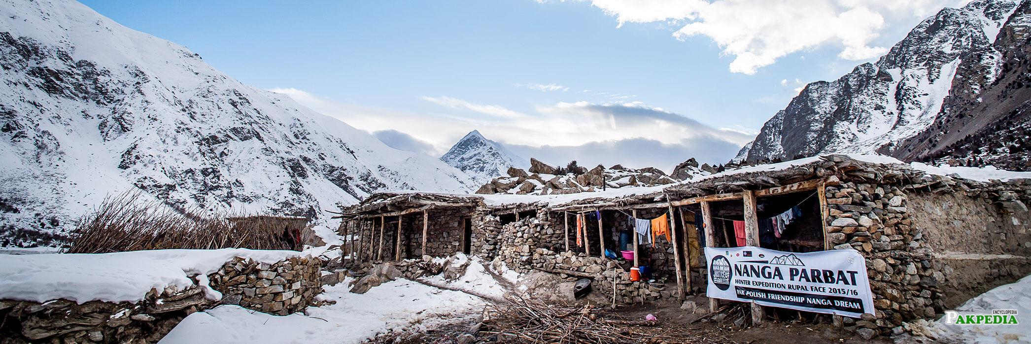 House in Nanga Parbat