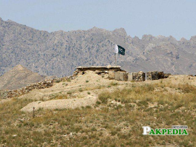 Army check post in Bajaur Agency