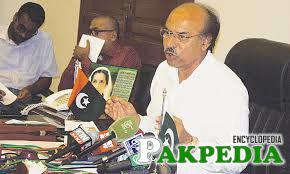 Nisar Ahmed Khuhro in Office