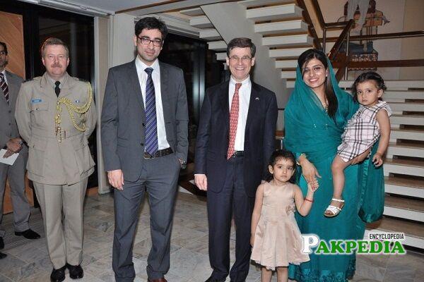 Hina Rabbani Khar Family