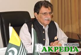 Farooq Haider Khan in office