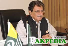 Farooq Haider Khan in office